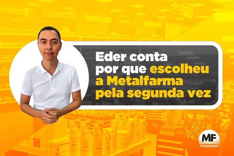 Cliente teve uma farmácia transformada e conta por que montar com a Metalfarma
