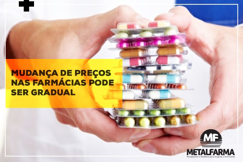 Medicamentos terão reajuste de 2,84% a partir de abril de 2018