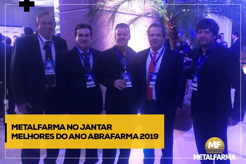 Metalfarma no jantar melhores do ano da Abrafarma 2019