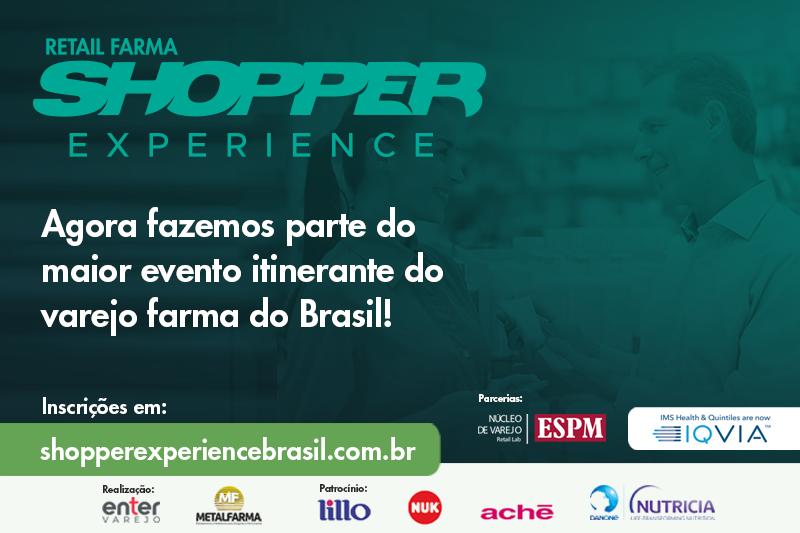 Metalfarma no Shopper Experience Brasil