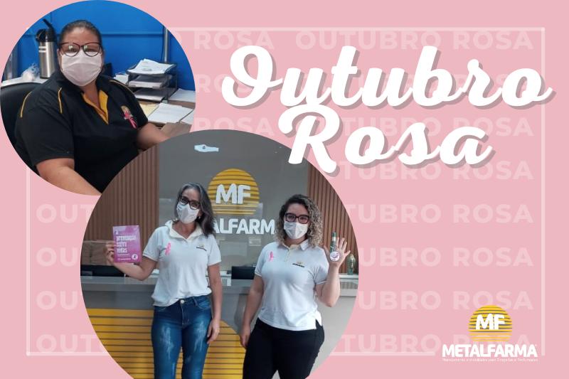 Outubro Rosa na Metalfarma: na luta contra o câncer de mama, a informação é nossa aliada!