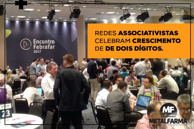 Redes associativistas comemoram crescimento